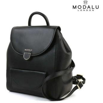 MODALU(モダルー)レザー ミニリュック flora black amall backpack・MH5057-3361601・レディース