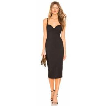 バイ ザ ウェイ by the way. レディース ワンピース ワンピース・ドレス Stacy Midi Dress Black