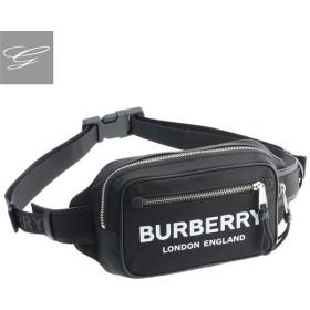 バーバリー/BURBERRY バッグ メンズ PRINTED BLE NYLON ボディバッグ/ベルトバッグ BLACK 2019年秋冬新作 8014603【ロゴアイテム】