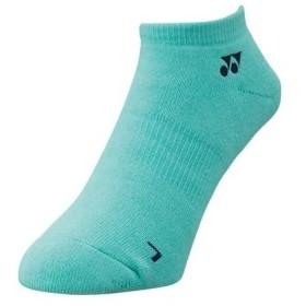 (ヨネックス)YONEX テニスウェア スニーカーインソックス 19121 [ユニセックス] 19121 526 ミントブルー (526) フリーサイズ