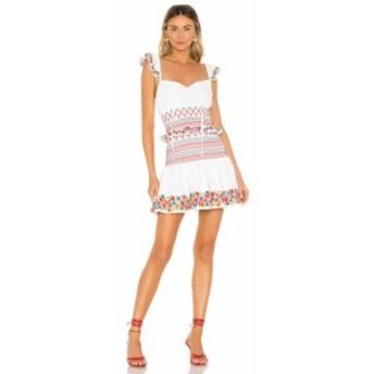トゥラロサ Tularosa レディース ワンピース ワンピース・ドレス Janine Dress White Multi