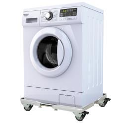 Mr.J家居生活 不鏽鋼洗衣機升降移動底座托架-四雙輪煞車B款