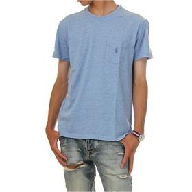 (ポロ ラルフローレン) POLO RALPH LAUREN/Pocket Short Sleeve Tee ポケット ワンポイント ベーシック 半袖Tシャツ ポケT (L, ニューパウダーヘザー) [並行輸入品]