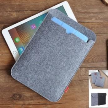 タブレット フェルトケース フェルトバック iPad Pro iPad Air iPad mini Galaxy Tab Sueface Go 10.5インチ 11インチ 9.7インチ 7.9イン