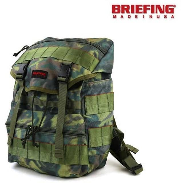 "BRIEFING(ブリーフィング)バリスティックナイロン リュックサック デイパック ""SIMPLE FLAP WOODLAND DP""・BRF245219-2771502・レディース"