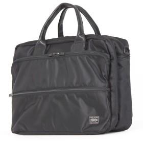 カバンのセレクション 吉田カバン ポーター タイム ビジネスバッグ メンズ 2WAY A4 PORTER 655 08297 ユニセックス ブラック 在庫 【Bag & Luggage SELECTION】