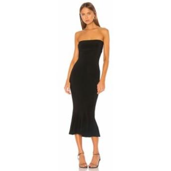 ノーマ カマリ Norma Kamali レディース ワンピース ワンピース・ドレス Strapless Fishtail Dress Black
