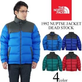 ノースフェイス THE NORTH FACE 1992 ヌプシ ジャケット デッドストック (日本未発売 NUPTSE JACKET ダウンジャケット 防寒)