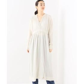 journal standard luxe 【sula / ソーラ】 water dress silk tulle collar ベージュ M