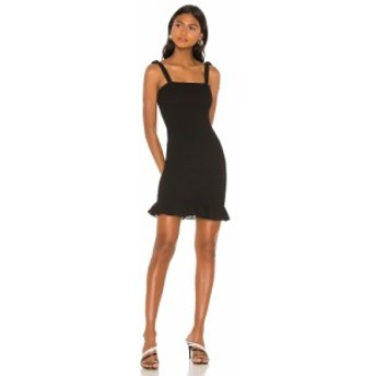 クリサ krisa レディース ワンピース ワンピース・ドレス Smocked Tank Mini Dress Black