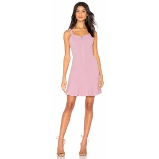 ジェー オー エー J.O.A. レディース ワンピース ワンピース・ドレス Zipper Front Dress Lilac