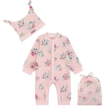 【3-6ヶ月】プリンティッド ポニーテールフットレススリープスーツ ハットハンドバッグ アイリントンバン