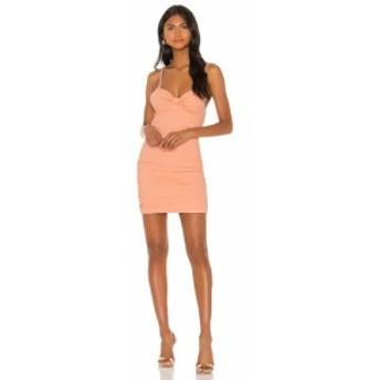 エヌビーディー NBD レディース ワンピース ワンピース・ドレス Whitley Mini Dress Peach Nude