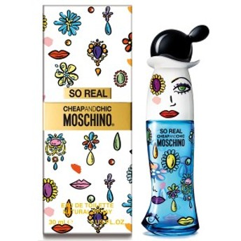 モスキーノ MOSCHINO ソー リアル EDT SP 30ml Cheap & Chic So Real