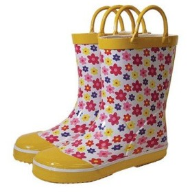レインブーツ rain boots イングリッシュフラワー G55786 【Lサイズ 18cm】 ルミカ lumica マメールマディ 雨具 雑貨 長靴 くつ