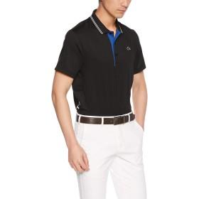 [ラコステ] SPORT GOLF レタリング ストレッチテクニカルジャージー 半袖ポロシャツ DH3360L メンズ ブラック EU 004 (日本サイズL相当)