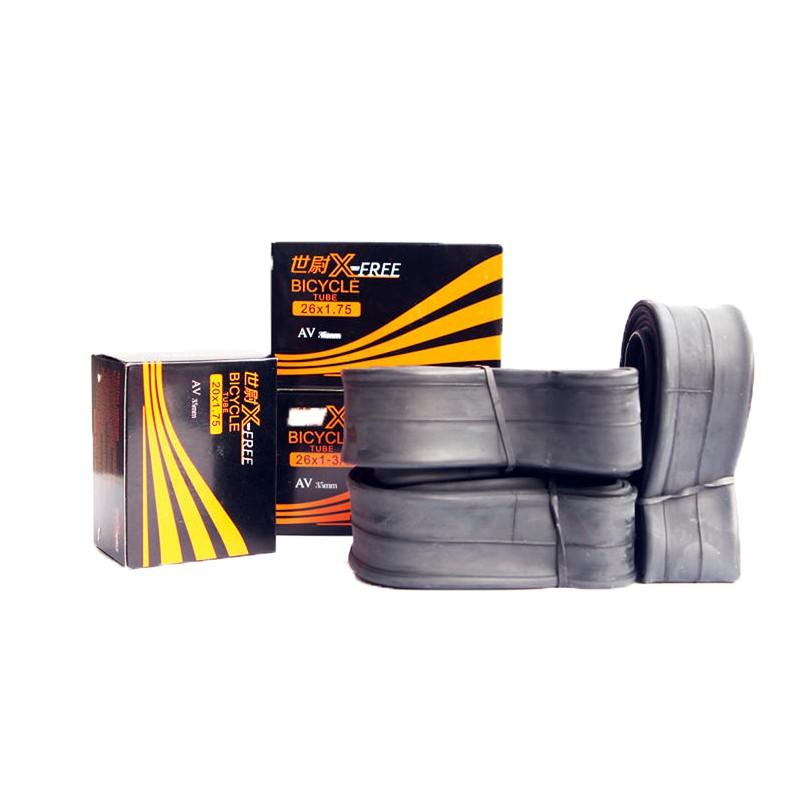X-FREE內胎 26吋輪組 (26x1.5-1.75 法式氣嘴36mm)[05700446]【飛輪單車】