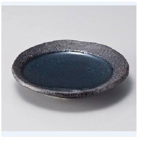 丸皿 【青い月 12cm丸皿】 / 12.5×H2.1cm /【業務用食器】【グループR】