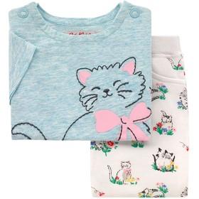 【6-12ヶ月】ベビー Tシャツアンドレギンスセット ガーデンキトン