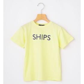 【シップス/SHIPS】 SHIPS KIDS:ピンクはWEB限定!<ファミリーおそろい>SHIPS ロゴ TEE(100~160cm)