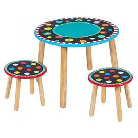 【美國ALEX】點點遊戲桌(黑板桌面可用粉筆直接畫畫)