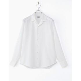 <バグッタ> オープンカラーシャツ 803ホワイト 【三越・伊勢丹/公式】