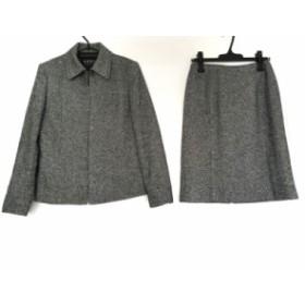 マイケルコース MICHAEL KORS スカートスーツ サイズ4 S レディース 美品 黒×白【中古】20190718