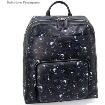 サルヴァトーレ フェラガモ リュック / バックパック メンズ 240343 0661191 Ferragamo DEEP BLUE