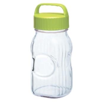 漬け上手フルーツシロップびん 保存容器・調味料 ポット(オリーブグリーン) 幅114×奥行100×高さ252(mm) 2入/プロ用/新品