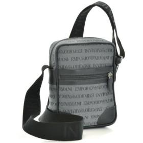 エンポリオアルマーニ/EMPORIO ARMANI バッグ メンズ シェブロン ショルダーバッグ グレー YEM986-YCF04-86156