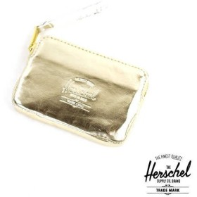 Herschel Supply メタリックカラー コインケース ミニポーチ OXFORD POUCH TEXTURED GOLD/SILVER・OXFORD-P-3441502【2F】【メール便可能3】