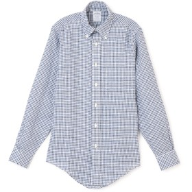 BROOKS BROTHERS(ブルックス ブラザーズ)/Gingham Irish Linen Sport Shirt Regent Fit
