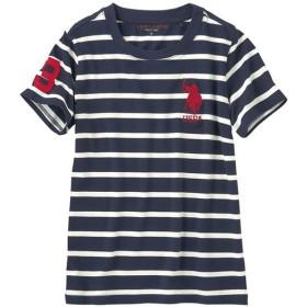 20%OFF【レディース】 ロゴTシャツ(U.S.POLO ASSN) - セシール ■カラー:ボーダーA ■サイズ:LL,M,L,3L
