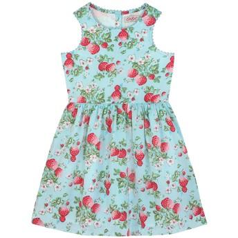 【90cm】スリーブレス ドレス ミニワイルドストロベリー