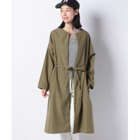 コエ ドロストロング軽羽織 レディース カーキ F 【koe】