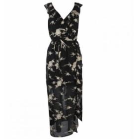 バルドー Bardot レディース ワンピース ワンピース・ドレス Embroidered Dress BLACK