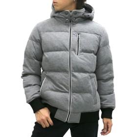 [クリエイトベアフット] 中綿ジャケット メンズ ミディアムグレー M