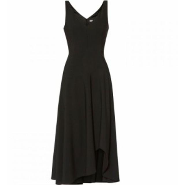 ジーナ バッコーニ Gina Bacconi レディース ワンピース ワンピース・ドレス Pilar Moss Crepe Midi Dress Black