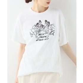 【イエナ/IENA】 【GOOD MOTIVE/グットモーティブ 】 MIX TAPE DEALER Tシャツ