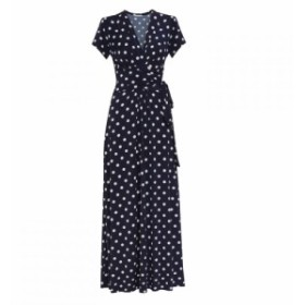 ジーナ バッコーニ Gina Bacconi レディース ワンピース ワンピース・ドレス Luciana Spot Maxi Dress Navy