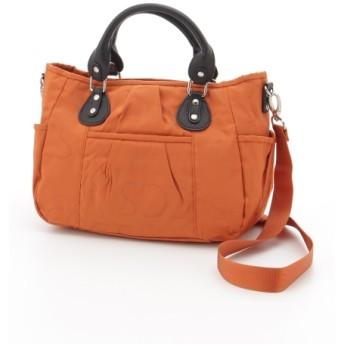 50%OFF Y'SACCS(bag) (イザック(バック)) ナイロンサテンショルダーバッグ レンガブラウン