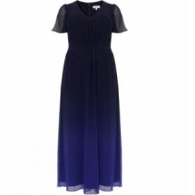 スタジオ8 Studio 8 レディース ワンピース ワンピース・ドレス Betty Ombre Maxi Dress Navy Blue