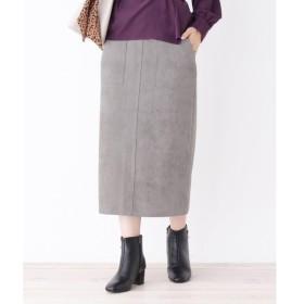 grove / グローブ マシュマロタッチスウェードタイトスカート