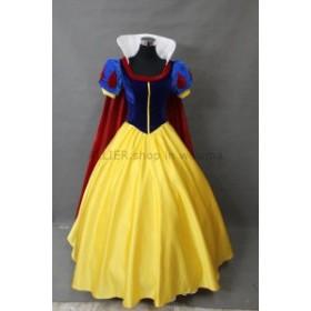 ドレス 大人のプリンセススノーホワイトコスチュームレディース白雪姫パーティードレス