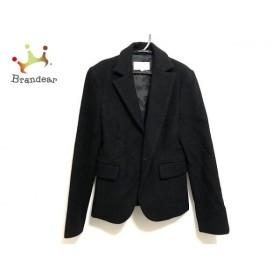 エムプルミエ M-PREMIER ジャケット サイズ36 S レディース 黒 厚手 新着 20190721【人気】