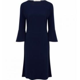 ヌガーロンドン Nougat レディース ワンピース ワンピース・ドレス Fig Fluted Sleeve Dress Navy