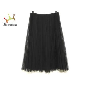 グレースコンチネンタル GRACE CONTINENTAL ロングスカート サイズ36 S レディース 美品 黒 新着 20190721