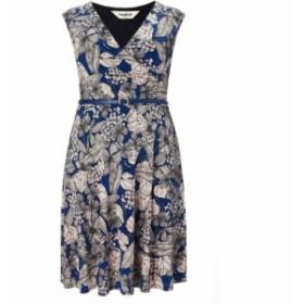 スタジオ8 Studio 8 レディース ワンピース ワンピース・ドレス Plus Size Estelle jersey dress Blue