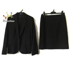 レミュー LES MUES スカートスーツ サイズM レディース 黒   スペシャル特価 20191009