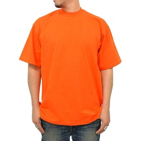 (プロクラブ) PRO CLUB 大きいサイズ メンズ Tシャツ 半袖 ヘビーウエイト 無地 メンズ 25色 LL オレンジ